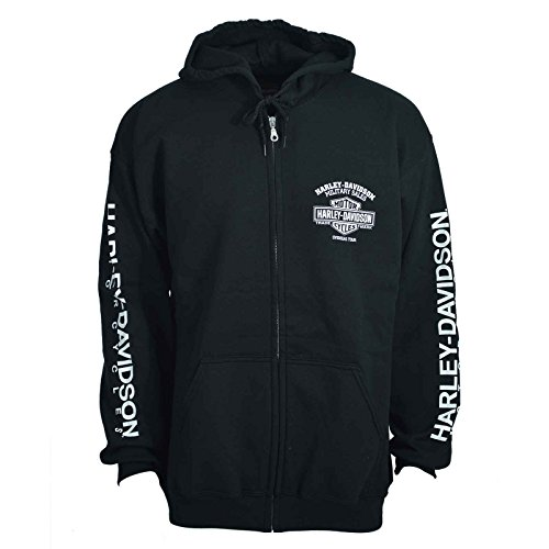 Harley Davidson H D Mens Hooded Sweatshirt