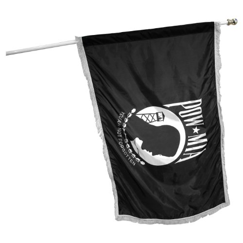 Online Stores POWMIA Nylon Flag with Indoor Pole Hem and Fringe, Single Sided, 3 by 5-Feet Review