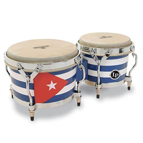 - Latin Percussion M201QBA Matador Cuban Flag Bongos
