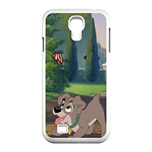 Lady and the Tramp II Scamp's Adventure Samsung Galaxy S4 9500 Cell Phone Case White Phone cover P557115
