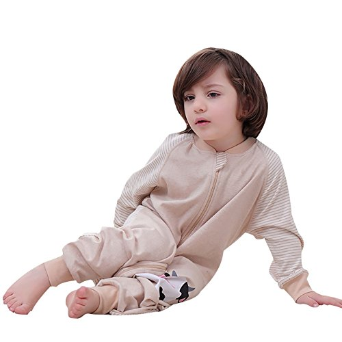 Luyusbaby Early Walker Baby Sleeping Bag with Sleeve Organic Cotton Wearable Blanket by Luyusbaby