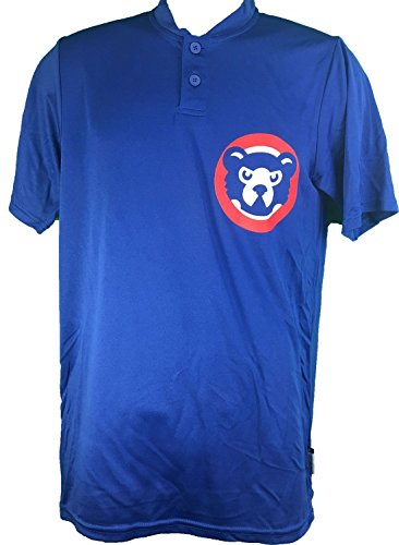 Chicago Cubs Cooperstown Collection Two Button Dri Fit Jersey T-Shirt – Sports Center Store
