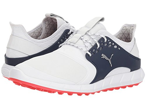 [PUMA(プーマ)] メンズランニングシューズ?スニーカー?靴 Ignite Power Sport Pro Puma White/Puma Silver/Peacoat 7 (25cm) D - Medium