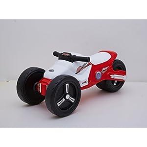 Ride-on Toys Simple Lightweight Stylish Push Motor Bike, Red, 27.9 x 11.7