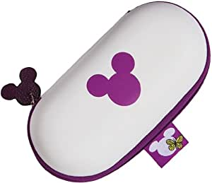 Heunec 012622 Crazy Disney - Funda para gafas, color morado