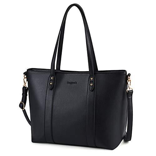 Donna Spalla Tote Bageek Eleganti Borse Donna Moda Borsa Bag A Mano Tracolla Nere nH0wF4qz