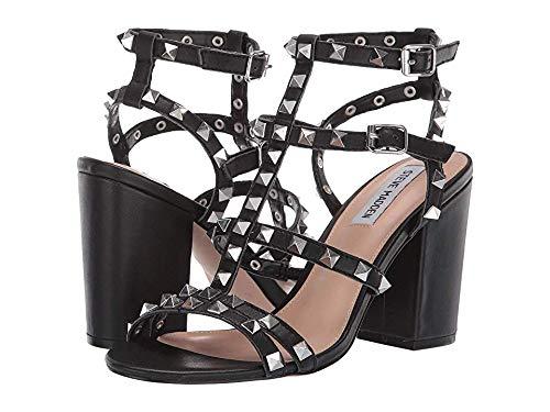 (Steve Madden Women's Stardom Black Leather 7.5 M US)