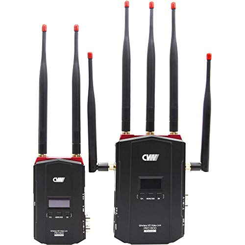 8980 System - Crystal Video Technology Pro800 Wireless HD Multifunctional Video Transmission System