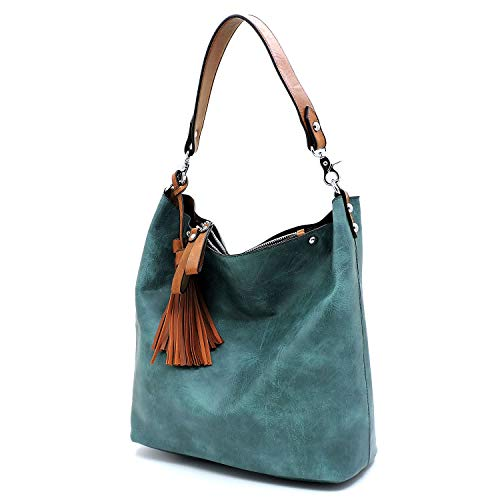 Bag Match in Bagblaze 2 Wallet Compartment Hobo Turquoise Shoulder Multi 1 with qzzYSR
