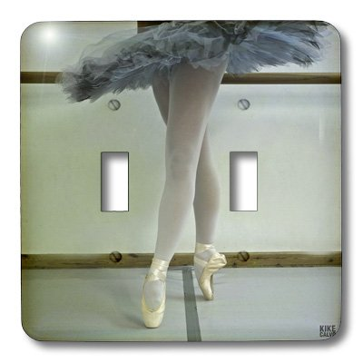 3dRose lsp_10048_2 Spanish Dancer Is Training At The Ballet School In Zaragoza 6 Double Toggle Switch