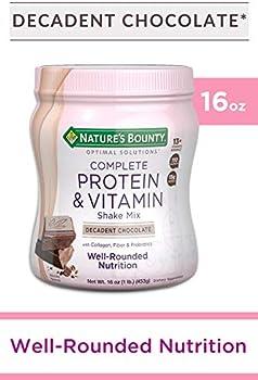 Nature's Bounty Optimal Solutions Chocolate Protein & Vitamin Shake