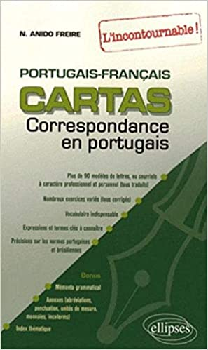 Amazon Fr Cartas Livre De Correspondance Portugais