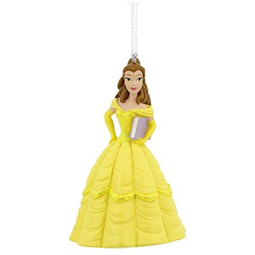 Disney Princess Hallmark BELLE Beauty and the Beast Christmas Tree Ornament 2016 Holiday Decoration