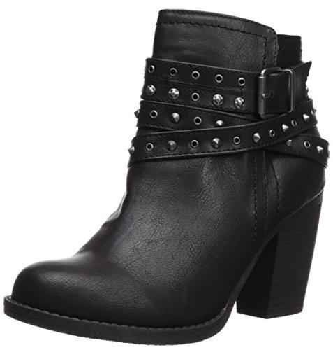 (Sugar Women's SGR-Poppies Fashion Boot Black Smooth 8 Medium)