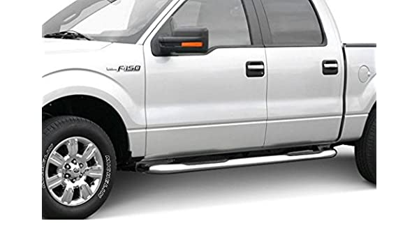 """Fit 1997-2003 Ford F150 Super Cab  4/"""" Oval Side Step Nerf Bar Running Board"""
