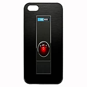 HAL 9000 - Space Odyssey Custom Image Case iphone 4 case , iphone 4S case, Diy Durable Hard Case Cover for iPhone 4 4S , High Quality Plastic Case By Argelis-sky, Black Case New
