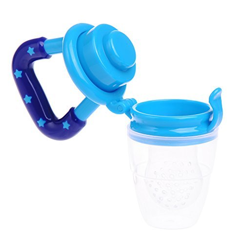 color azul glassgow/ /Chupete Tetina Beb/é Alimentaci/ón Infantil fruta suave Bite alimentador alimentaci/ón herramienta tetina de silicona