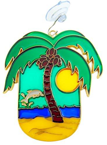 - Westman Works Palm Tree Suncatcher Tropical Beach Window Ornament Sun Catcher Decoration