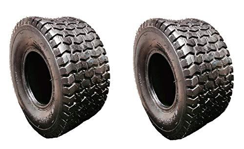Amazon.com: Juego de 2 neumáticos de giro de 15 x 6 – 6 para ...