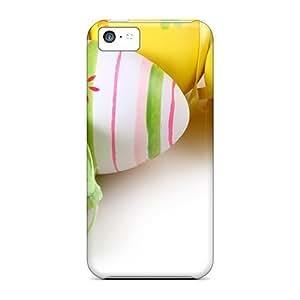 MMZ teléfono Carcasa rígida CASENikRun bricolaje funda Pascua huevos pintados empapela para iphone 4/4S