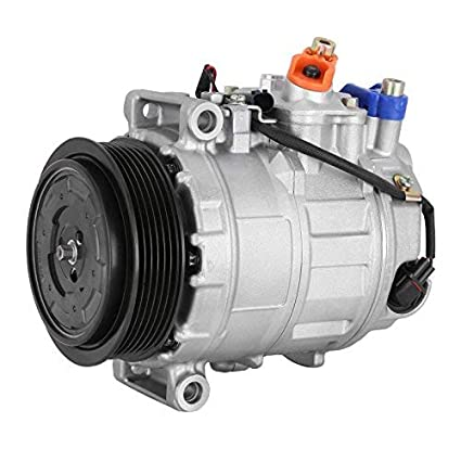 Amazon.com: Happybuy CO 10807JC (000230011) Universal Air Conditioner A/C Compressor for 06-11 Mercedes R350, 03-06 S430/S500 0022301211 7SEU17C 98356 ...