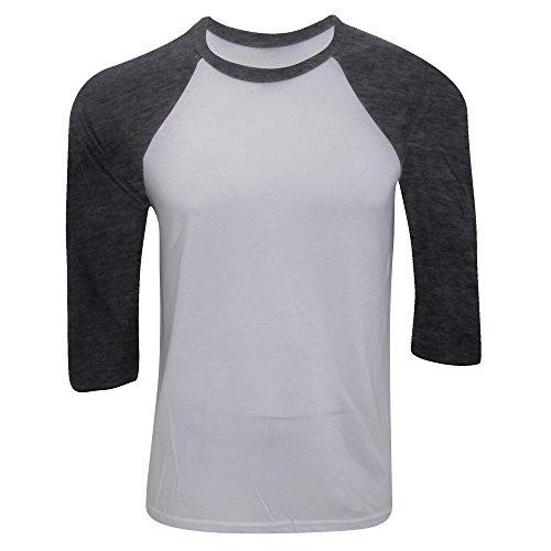 Tri Bella Black Sleeve blend Mens 3 Baseball Royal T And true 4 Canvas shirt r4SPqt04