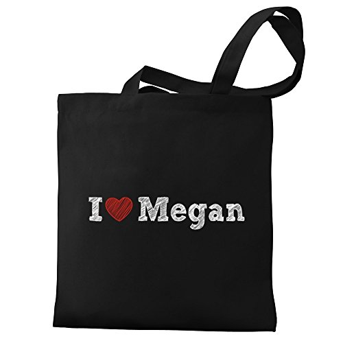 I Megan Eddany love Eddany Canvas love Megan I Tote Bag gZIwrO4I
