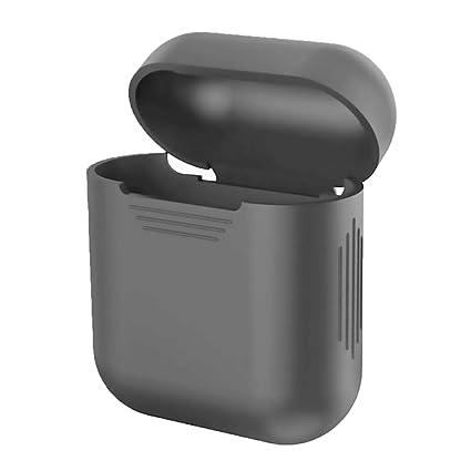 GerTong Apple AirPods Funda, Silicona a Prueba de Golpes Bluetooth Auriculares Protección Funda para AirPods