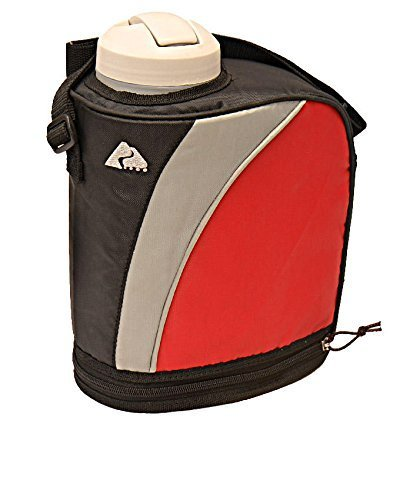 Ozark Trail 1-Gallon Insulated Jug, Red