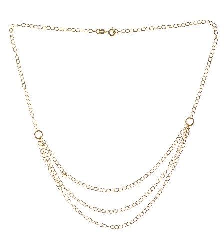 Collier - NKG-K10307 - Femme - Or Jaune 375/1000 (9 Cts) 3.0 Gr