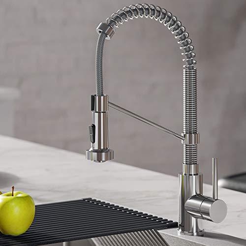 Kraus KPF-1610CH Bolden Kitchen Faucet, 18 inch, Chrome ()