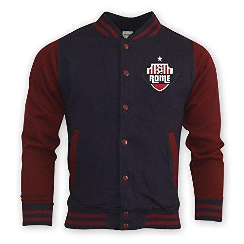 Roma College Baseball Jacket (navy) B0787XS7C2Navy Medium (38-40\