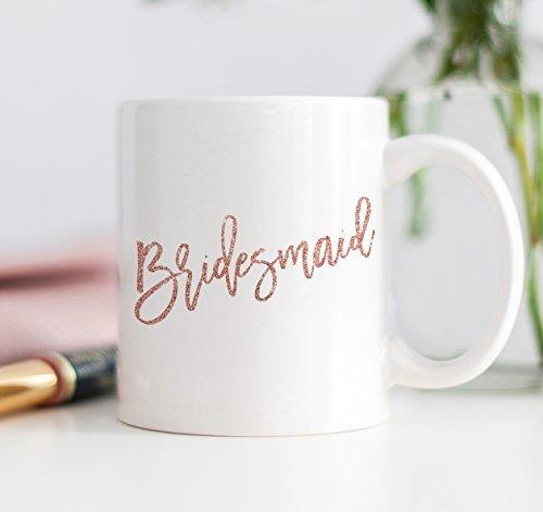 Pink Bridesmaid Mug, 11 oz Coffee Mug, Will You Be My Bridesmaid?, Sister Best Friend Wedding Gift Misshow