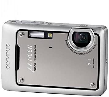 olympus mju 770 sw digital compact camera titanium amazon co uk rh amazon co uk