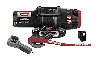 New Warn ProVantage 4500 lb Low-Profile Winch With Synthetic Rope & Model Specific Mount - 2011-2017 Can-Am Commander 1000 UTV