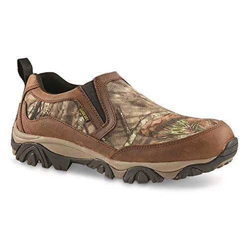 Guide Gear Men's Arrowhead II Camo Nylon/Leather Waterproof Slip-on Shoes