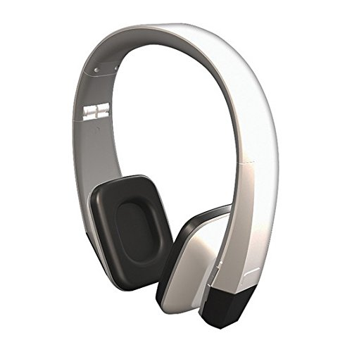 Power Acoustik HIR-1W 1-Channel Wireless Ir Headphones (Snow White)