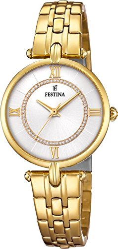 Festina Mademoiselle F20317/1 Wristwatch for women With Swarovski crystals