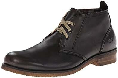 Bed Stu Men's Draco Chukka Boot,Black,8 M US