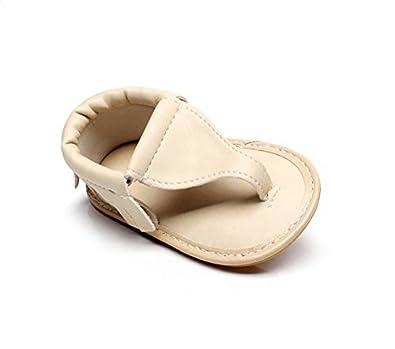LIVEBOX Infant Baby Girls Moccasins Tassels Premium Soft Rubber Sole Anti-Slip Summer Prewalker Toddler Sandals