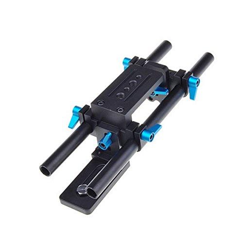Poplar Dp500 Dslr Rail 15mm Rod Rig Support System Quick Rel