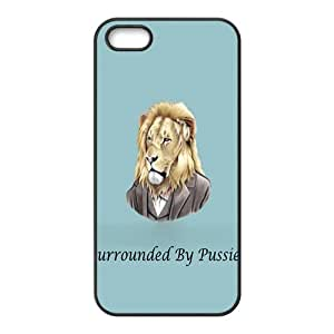 Surrounded by pussies Case Cover For iPhone 5S Case