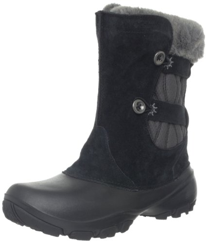 Columbia Women's Sierra Summette III Slip Winter Boot,Black/Grill,7 M US