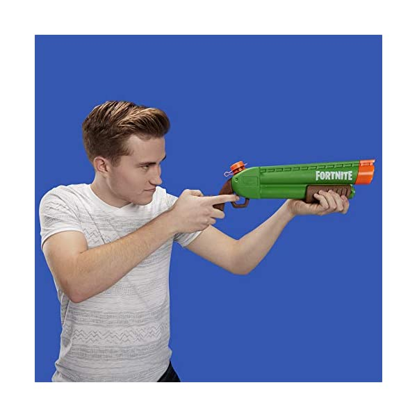 Nerf Supersoaker - Fortnite Pump-SG, Blaster ad Acqua con Getto Azionato a Pompa, E7647 4 spesavip