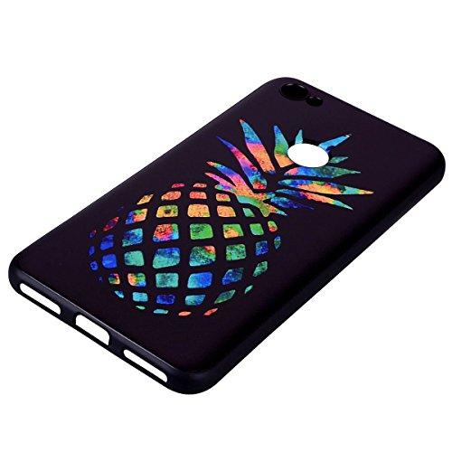 Patrón de color TPU suave de nuevo caso para Xiaomi Redmi Note 5A [Universal para Xiaomi Redmi Note 5A Prime] ( PATTERN : Rabbit ) Pineapple