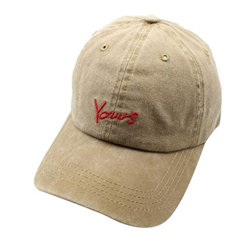 Womens Summer Sun Hats Cotton Patterned Embroidered Unisex Baseball Caps Coffee ()