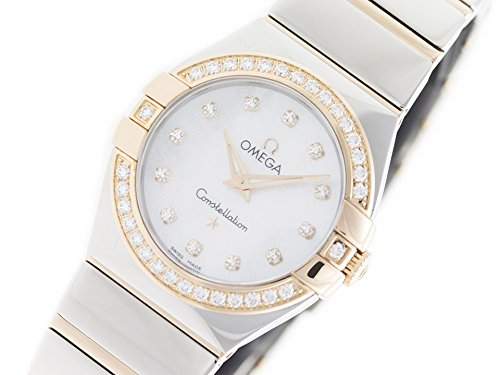 Omega Constellation quartz womens Watch 123.25.27.60.55.005 (Certified Pre-owned)