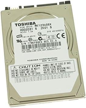 Toshiba MK1234GSX 120GB SATA//150 5400RPM 8MB 2.5-Inch Notebook Hard Drive