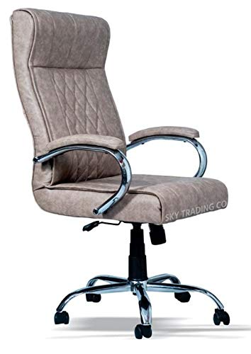 Sky Trading Co Sky Revolving Office Chairs Boss Series D Director Chairs High Back Chairs Beige Color Amazon In Home Kitchen