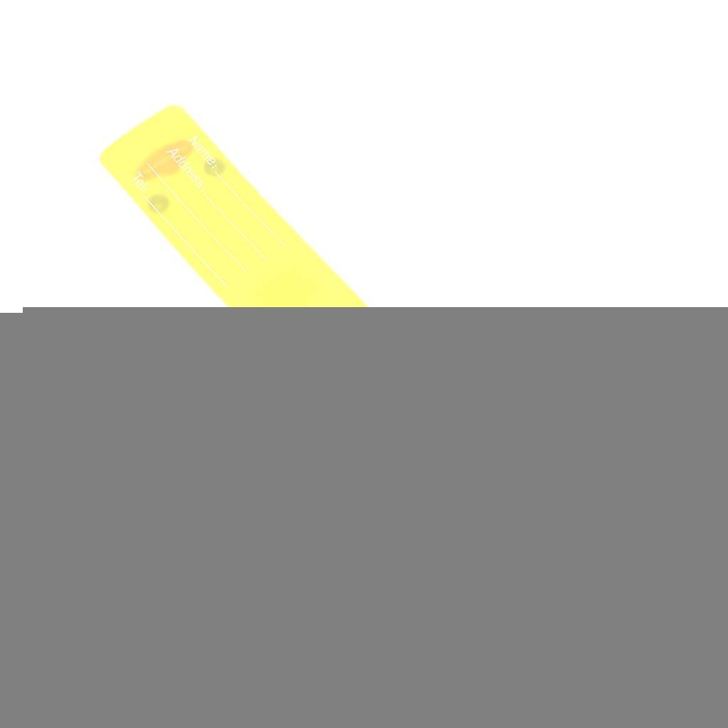 Cartoon-Silikon-Reisegep/äck-Anh/änger f/ür Gep/äck Adresse 1 Tasche Name Koffer